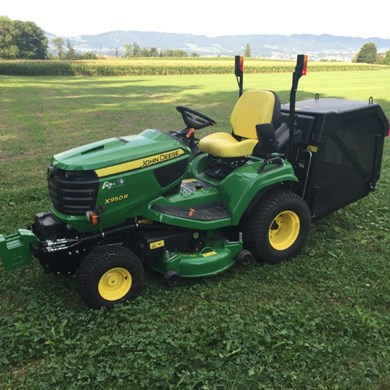 rasentraktor john deere x950 diesel agropool. Black Bedroom Furniture Sets. Home Design Ideas