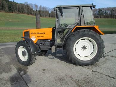 Tracteur renault 90 34