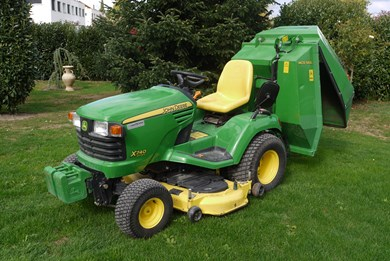 Rasentraktor tracteur gazon john deere x740 agropool - Tracteur tondeuse john deere occasion ...