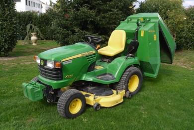 rasentraktor tracteur gazon john deere x740. Black Bedroom Furniture Sets. Home Design Ideas