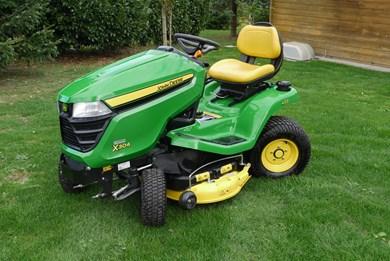 rasentraktor tracteur gazon john deere x304 agropool. Black Bedroom Furniture Sets. Home Design Ideas