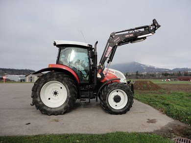 tracteur steyr 4115 profi traktor 4 radantrieb