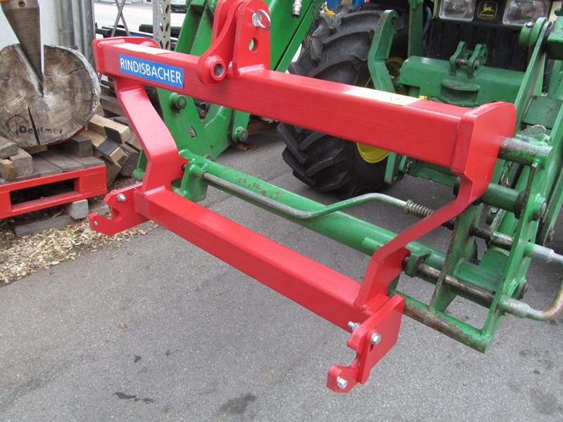 Punkt adapter an frontlader agropool