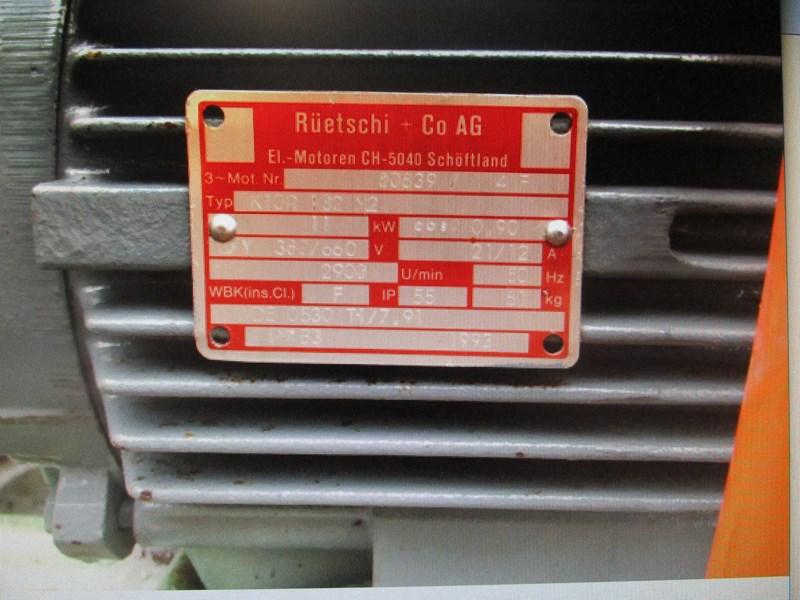 Fabriksnye Empor (Schürch) Pumpe 15PS El.Motor   Agropool WA-49