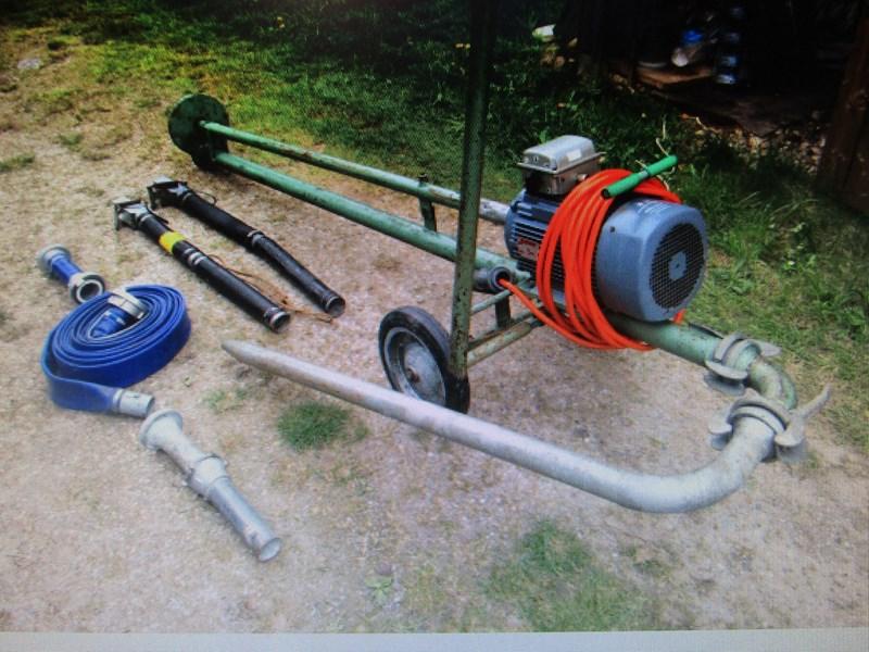 Splinternye Empor (Schürch) Pumpe 15PS El.Motor   Agropool MV-52